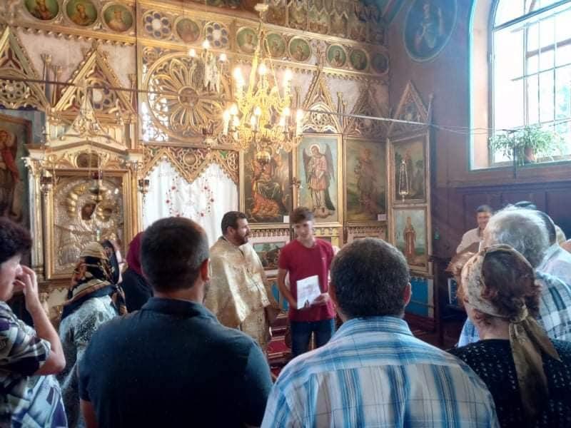 Bucuria familiei creștine din parohia Ghelăiești
