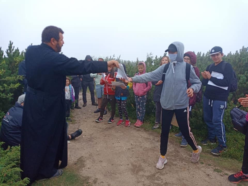 Premierea copiilor in cadrul programului Sfantul Iosif cel Milostiv de la Iasi